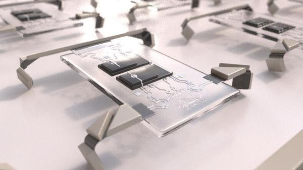 """科学家在4英寸硅片上制造了百万""""机器人大军"""""""