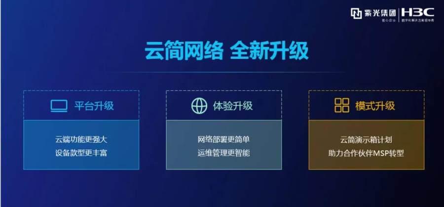 极致升级 新华三发布新一代云简网络解决方案