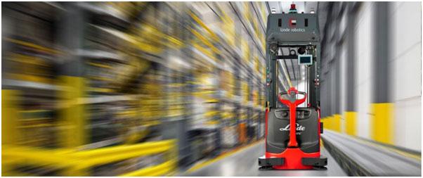 林德获得首张AGV的中国机器人认证证书