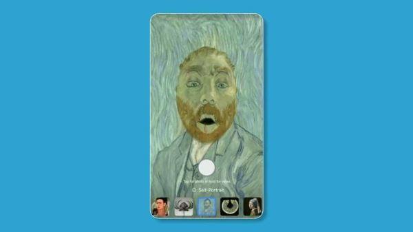 Google Arts & Culture 手机程序,新增滤镜秒变名画主角