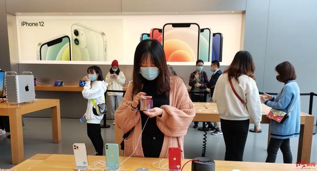 多地媒体调查,iPhone12已跌破官方价,但Pro坚挺