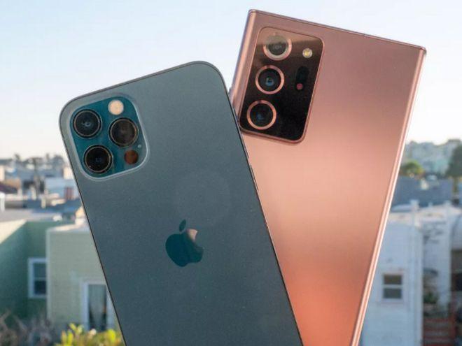 内存少一半,但iPhone 12应用加载比三星Note 20快