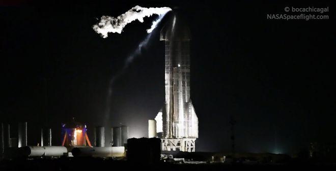 SpaceX星际飞船原型SN8最早9日进行首次高空试飞