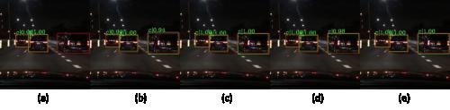 基于计算机视觉的夜间跨域车辆目标检测