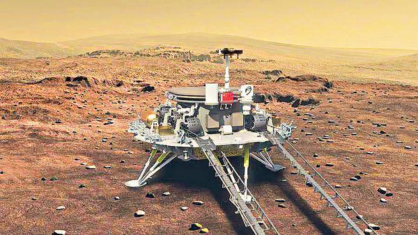 天问一号探测器在轨飞行116天,飞行里程突破3亿千米
