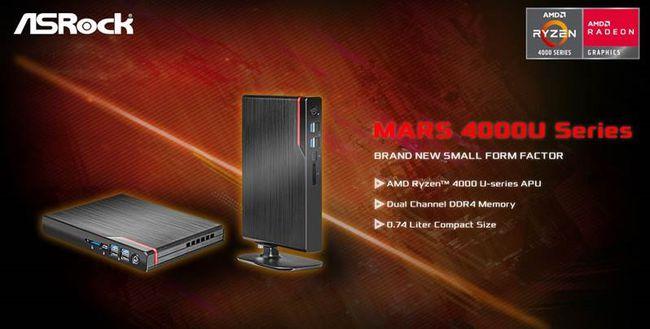 华擎发布最薄 AMD mini PC,搭载 Ryzen 4000U 处理器-神韵炭雕