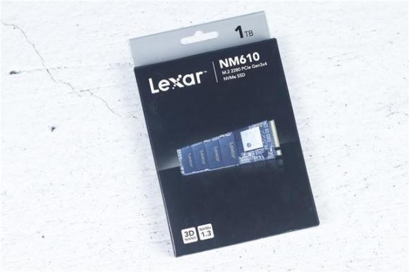 Lexar雷克沙NM610固态硬盘 办公、玩游戏都非常好用