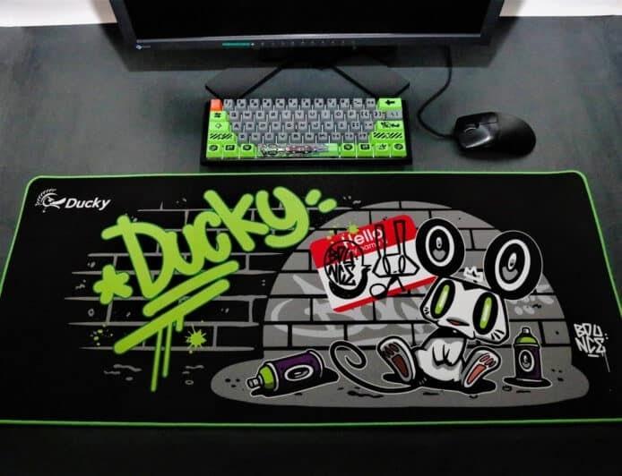 Ducky 鼠年机械键盘限量版 涂鸦大师设计+RGB背光
