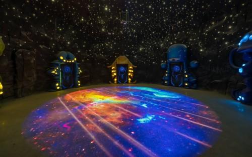 梦幻演绎《星洞传说》 Vivitek(丽讯)邀您探索首个洞穴式超媒体梦幻乐园