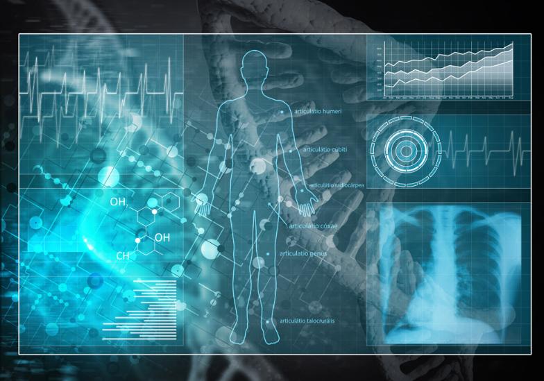 人工智能高科技医疗设备图