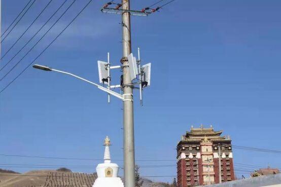 """甘南首个""""共享电力杆塔""""建设5G基站落户合作"""