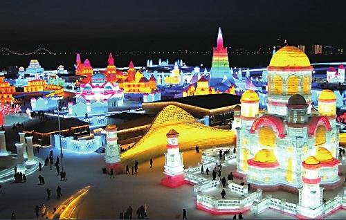 黑龙江联通依托5G网络优势和服务实力高清直播冰雪大世界奇幻盛景