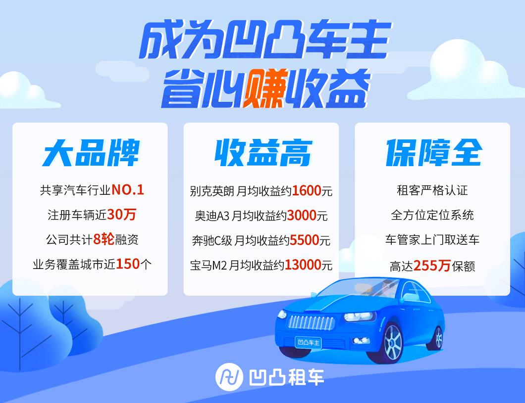 北京闲置车出租平台哪里找?凹凸平台帮您安排闲置车