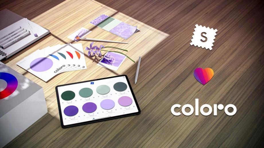 coloro与swatchbook合作整合色彩智能与材料智能