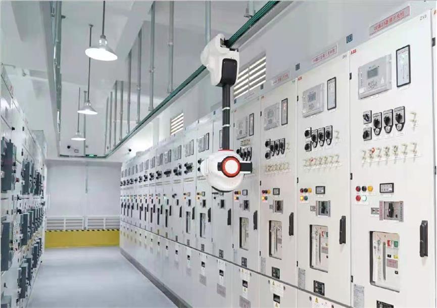 国网山东电力:首个县域配电室使用智能巡检机器人