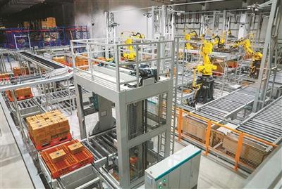 """""""智能工厂""""  让人均生产效率提高45%"""