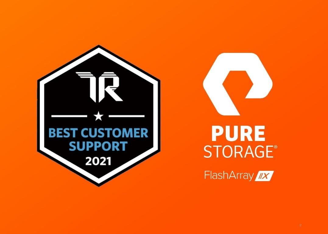 PureStorage连续两年蝉联企业闪存阵列存储类别领导者
