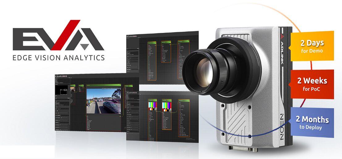 凌华科技推出边缘视觉分析软件开发套件EVA SDK加速边缘AI视觉