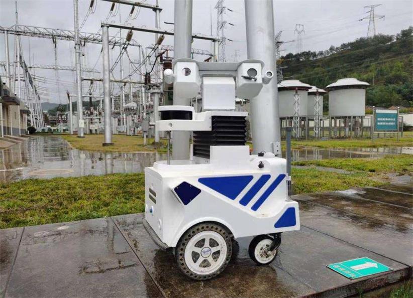 智能巡检机器人助力中秋保电显成效