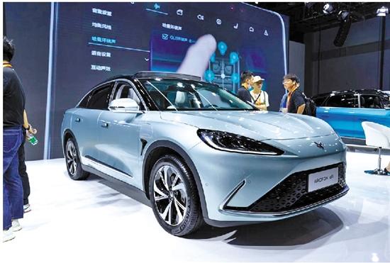 ARCFOX极狐汽车高调现身于2021年第22届杭州车展