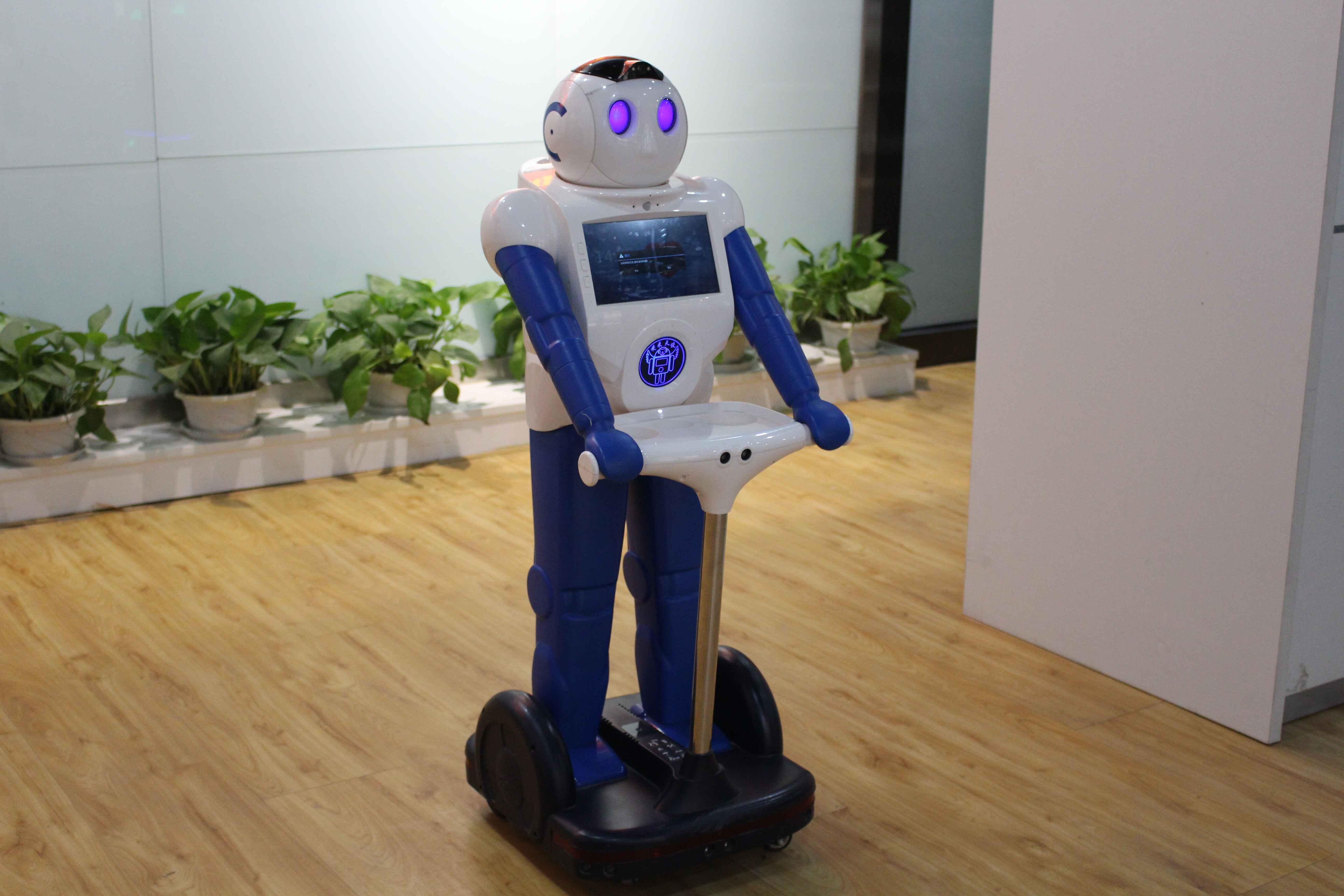 关于人工智能机器人的介绍(工业机器人应用领域)