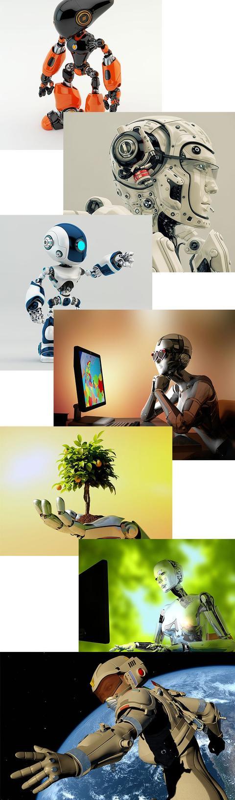 人工智能的图片ppt(ai人工智能图片清晰)